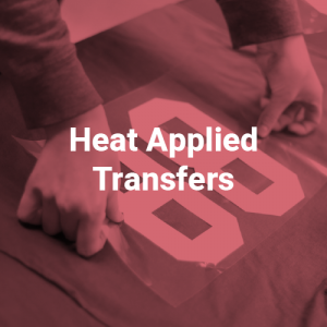 Heat Applied Transfers